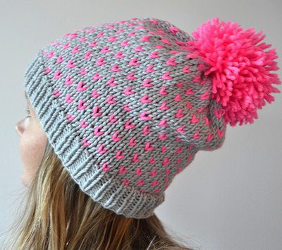 neon hat http://www.ravelry.com/projects/Mayalilla/now-thats-pink-copyhat