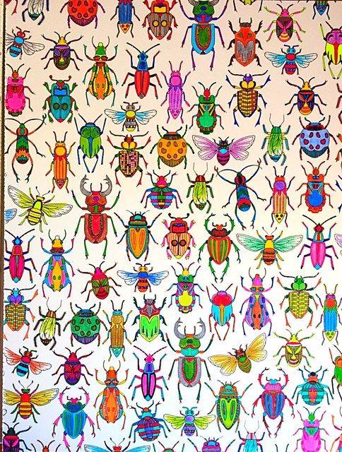 martaj_art: Secret Garden bugs Tajemny ogród