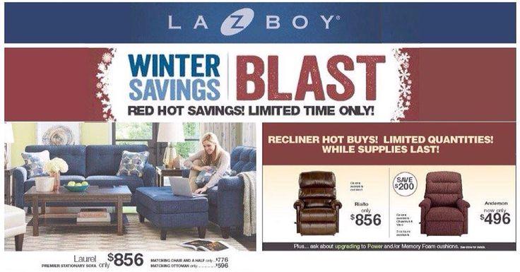 Winter Savings on La-z-boy.