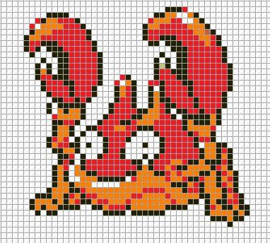 386 Best Pokemon Perler Patterns Images On Pinterest | Perler