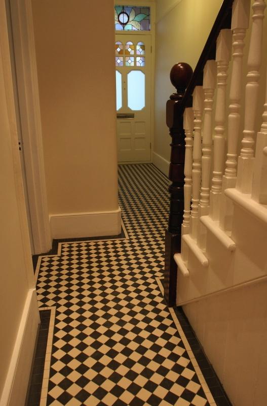 Victorian hallways | Harvey & Jefferson Mosaics