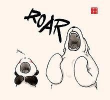 «Yawn vs. Roar» de Panda And Polar Bear