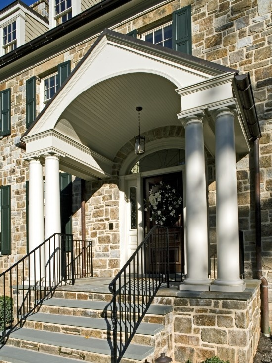 20 Best Rounded Amp Semi Circular Porticos Images On