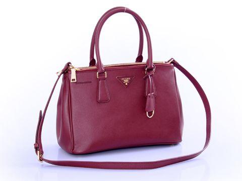 Prada New maroon Handbag   Coveted bags   Pinterest   Prada, Prada ...
