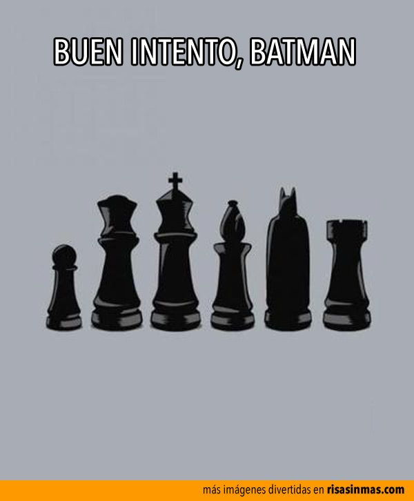 Buen intento, Batman