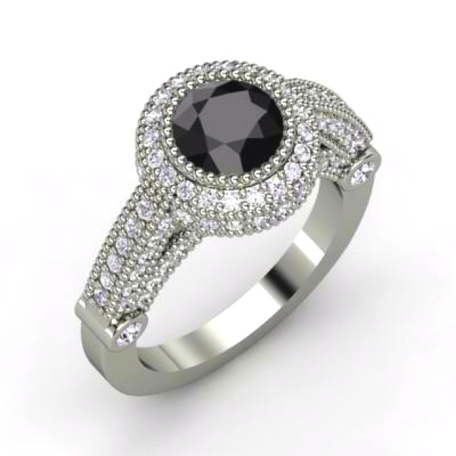Loveee black diamonds