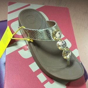 Fit Flop with stones and arch support