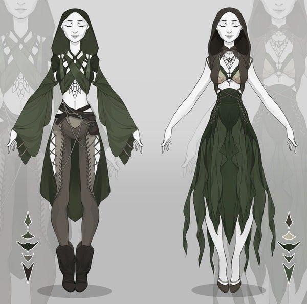 fantasy outfits fantasy outfits kleidung zeichnen