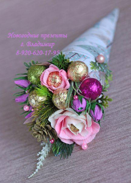 Букеты из конфет Подарки г. Владимир