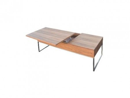 Songdream CT 8112 Coffee Table-Walnut