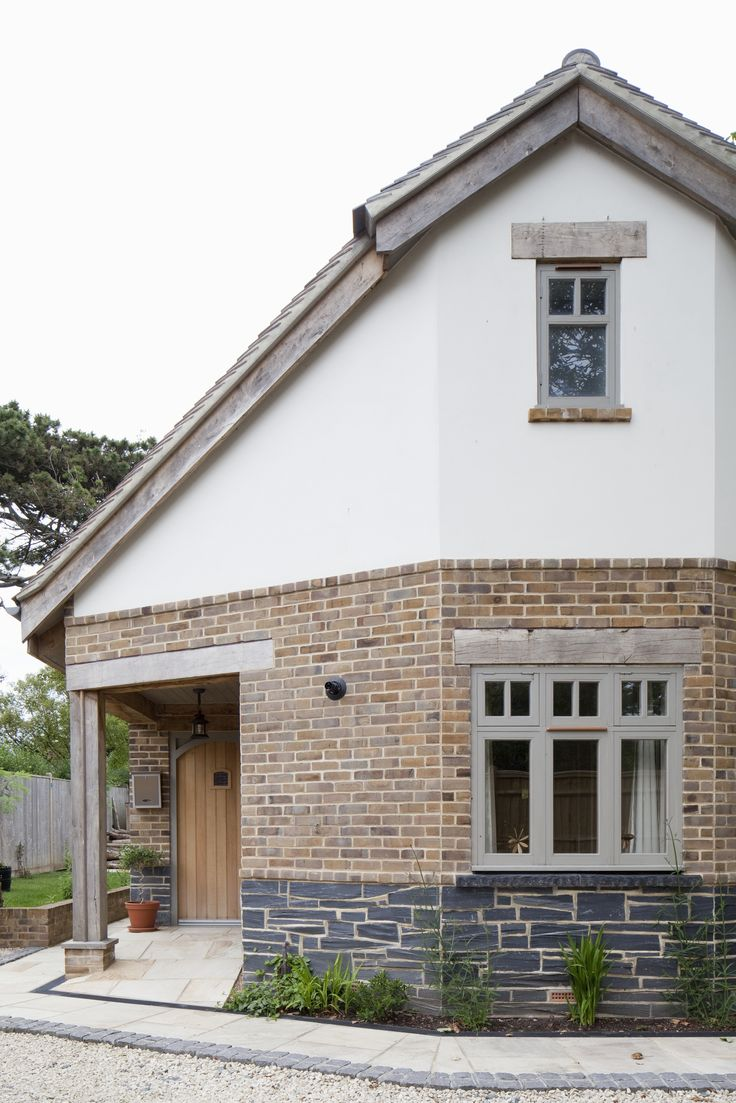 New build house in traditional style built to modern for New house build