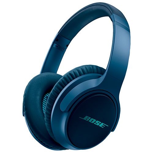 Bose SoundTrue II Over-Ear Headphones with Mic (Apple) (ST AE II BLUE MFI) - Navy Blue