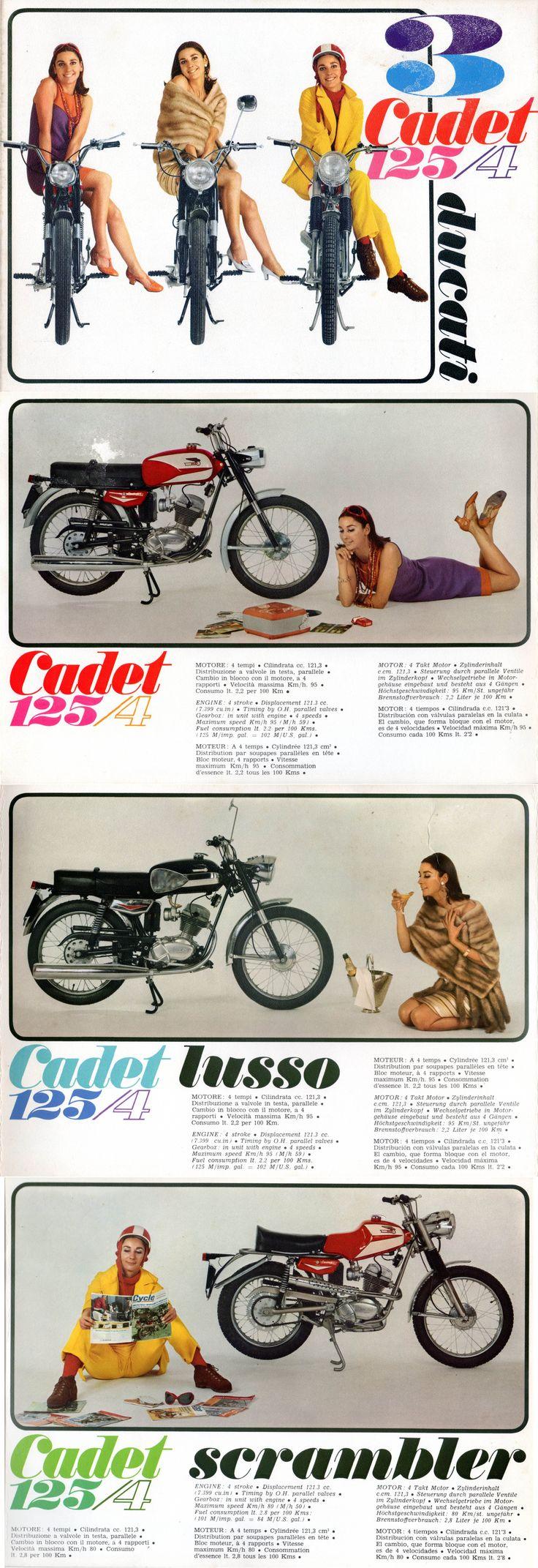 Ducati Cadet 125 x 3