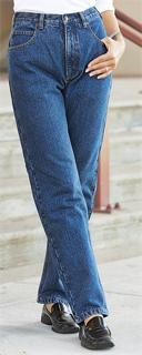 Super-soft, incredibly warm, brushed all-cotton flannel lining. Toasty-warm:    100% cotton denim shell  100% brushed-cotton flannel lining  Button waist  Zip front  2 side hand pockets  2 rear patch pockets  Riveted stress points.  Machine wash / dry. Imported.  State Size, as available in the Shopping Cart below. Get the ultimate in casual comfort right here!    Act ONLINE Now!    Guide Gear® Women's Flannel-lined Jeans, Stonewash