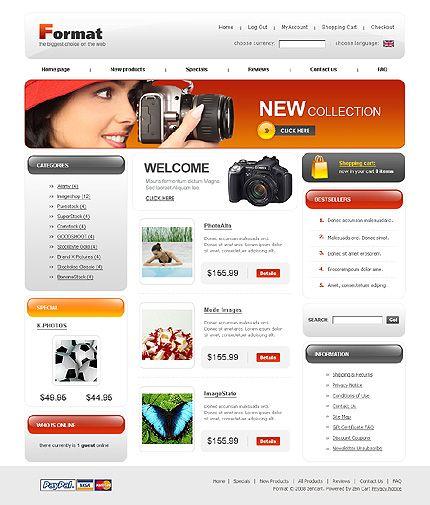 Format Photo ZenCart Templates by Di
