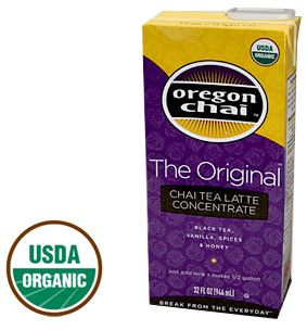 Original Oregon Chai Tea Latte Concentrate - 32oz. The perfect night time treat after the kids are in bed. Ahh!