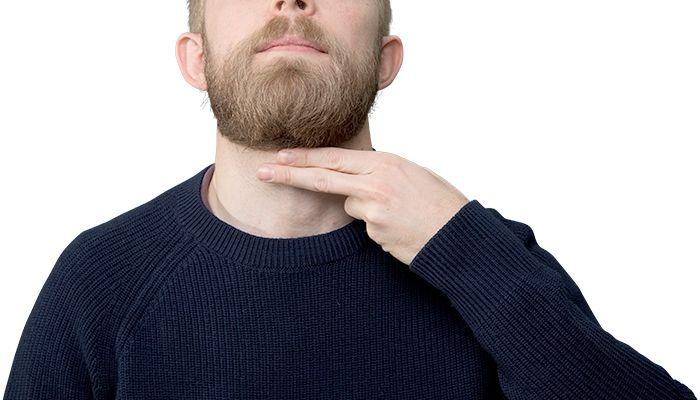 Where to Trim Your Beard Neckline