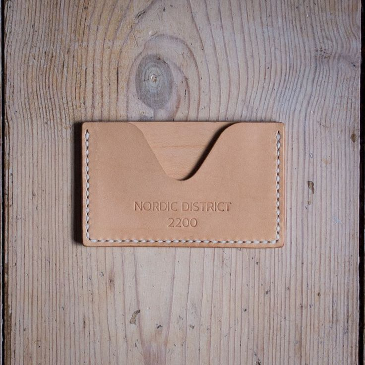 'Njord' Card Holder - Natural via NORDIC DISTRICT. Click on the image to see more!