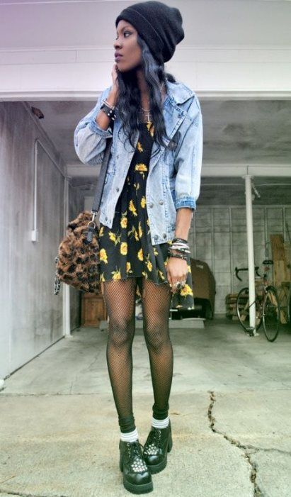 Super Fashion Edgy Grunge Hipster Tights Ideas