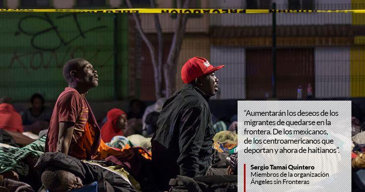 Con la llegada de Donald Trump al poder más migrantes se asentarán en las zonas fronterizas, asegura Angeles sin Fronteras.