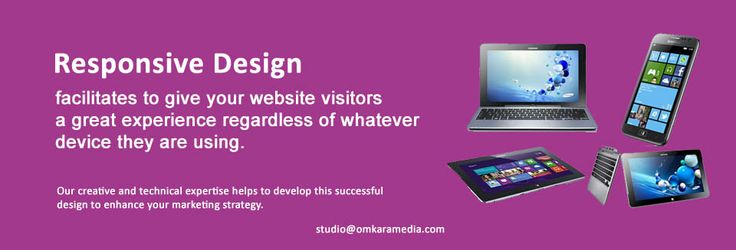 Our responsive design services