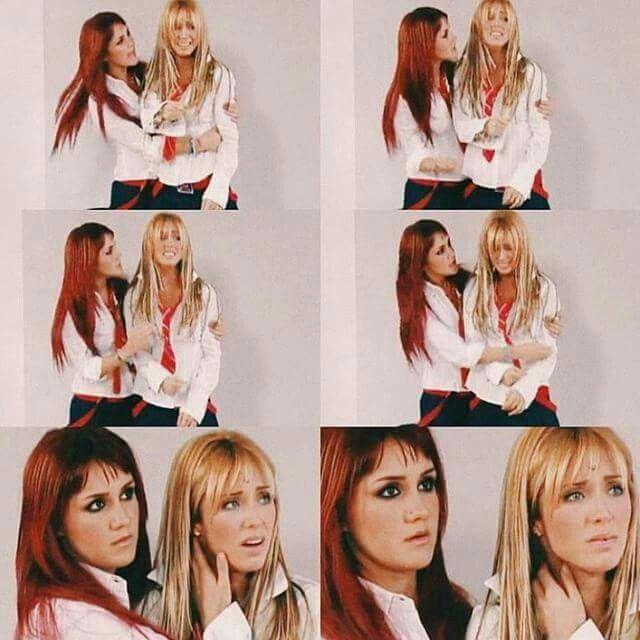 Mia y Roberta (Anahi y Dulce Maria) (Rebelde/RBD)