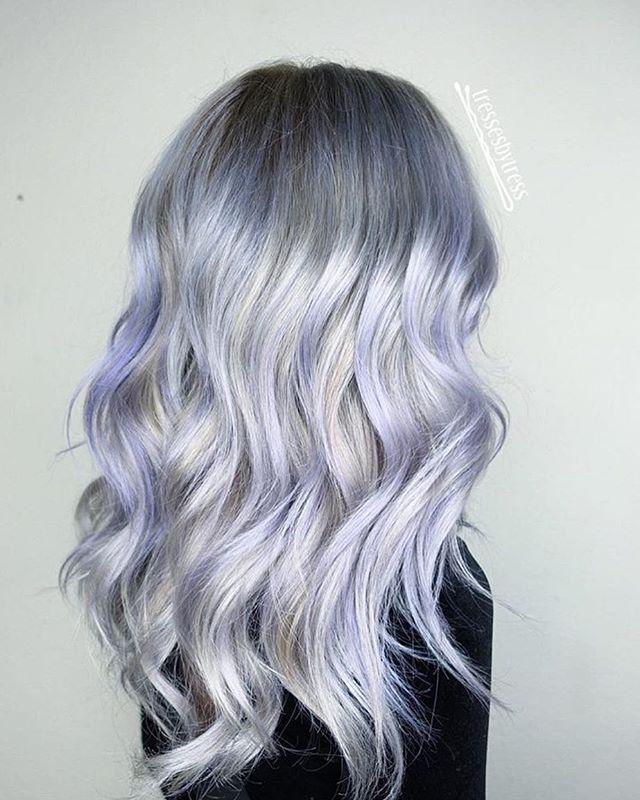 37+ Platinum purple hair ideas