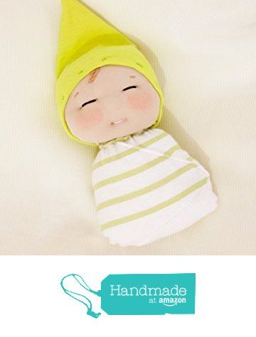 7 inch handmade doll. Swaddled baby boy soft sculpted cloth doll. from La Chulona Handmade Dolls https://www.amazon.com/dp/B01I5V4E4S/ref=hnd_sw_r_pi_dp_QupMxbN783D8Y #handmadeatamazon