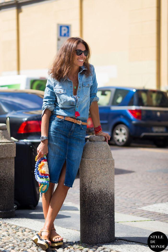 Milan Men's SS16 Street Style: Viviana Volpicella