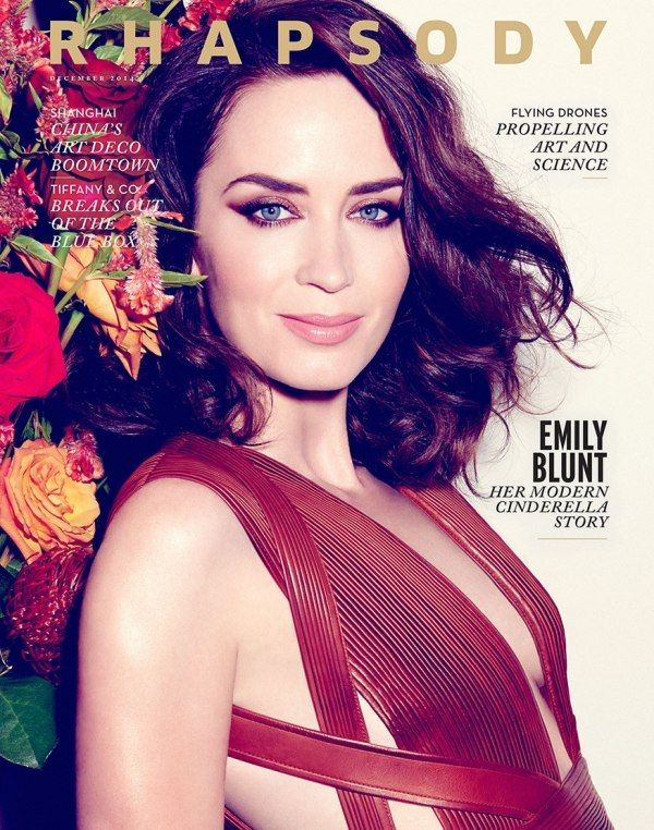 Emily Blunt for Rhapsody Magazine December 2014