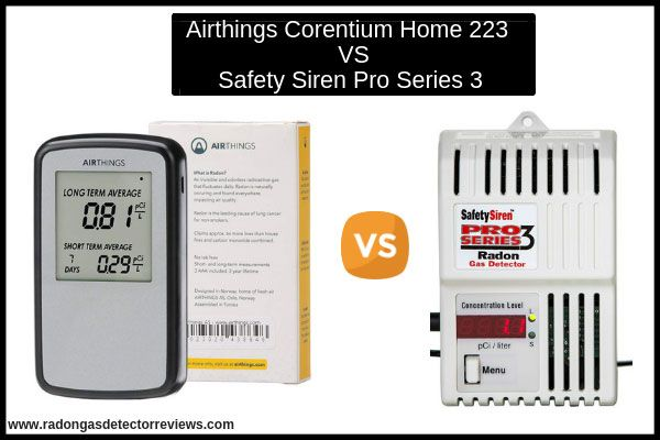 Airthings Corentium Home 223 V S Safety Siren Pro Series3 With Images Radon Gas Gas Detector Safety
