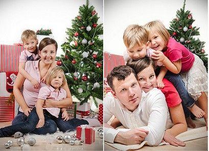 семейная новогодняя фотосессия фото - Поиск в Google