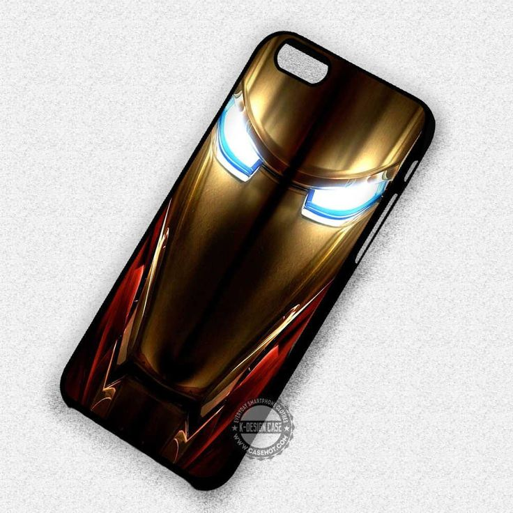 Iron Man Suit Mask - iPhone 7  6  SE Cases & Covers