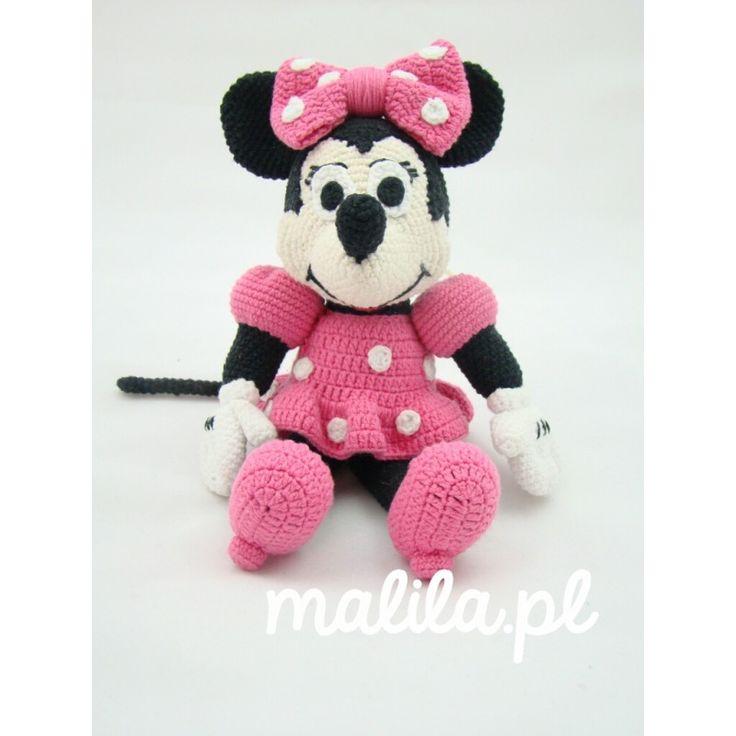Myszka Minnie - MALILA Sabina Rogowska