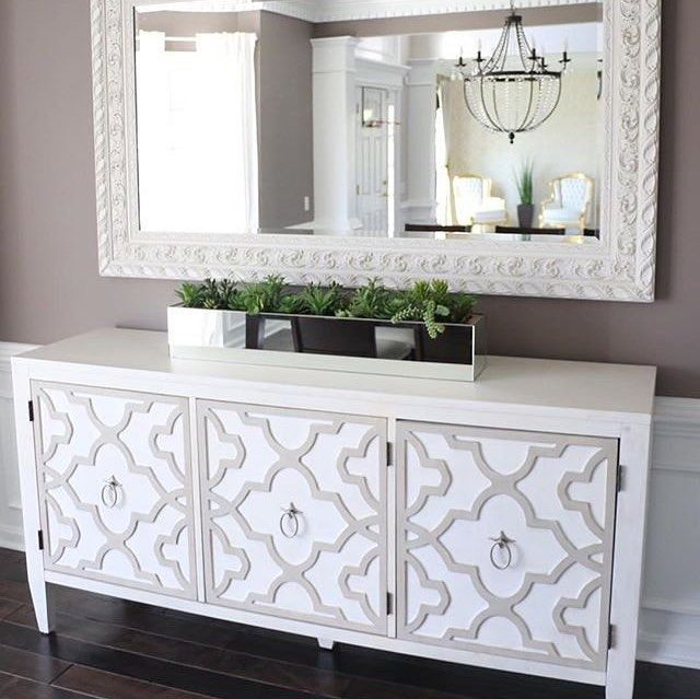 We think our Melange Miranda Credenza looks stunning in @jeanette.gigi's dining …