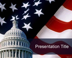 42 best flags backgrounds for powerpoint images on pinterest free capitol powerpoint template with us flag toneelgroepblik Image collections