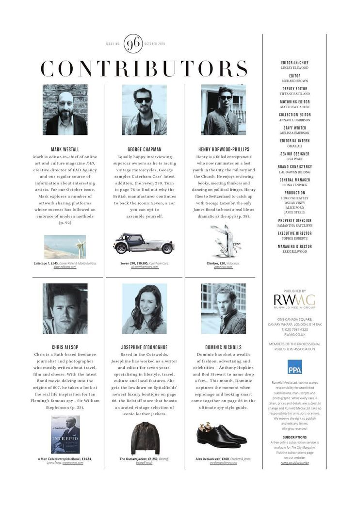 #ClippedOnIssuu from The City Magazine October 2015