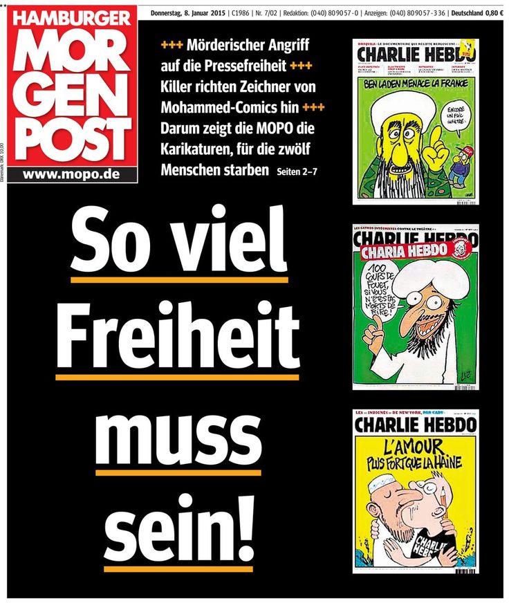 Die Hamburger Morgenpost.