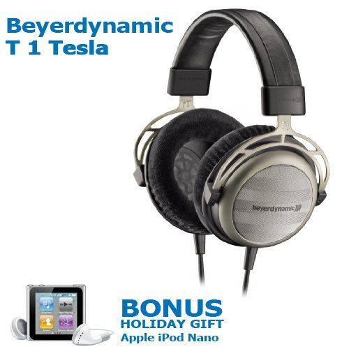 Beyerdynamic T1 Tesla Audiofile Stereo Headphone + BONUS HOLIDAY GIFT Apple iPod nano 8 GB Silver (6th Generation) NEWEST MODEL (Retails For $149.95) We are an authorized dealer of Beyerdynamic Headphones and this kit includes Beyerdynamic T1 Tesla Audiofile Stereo Headphone + BONUS HOLIDAY GIFT Apple iPod nano 8 GB Silver (6th Generation) NEWEST MODEL (Retails For $149.95). Beyerdynamic T1 Tesla ... #Beyerdynamic #CE