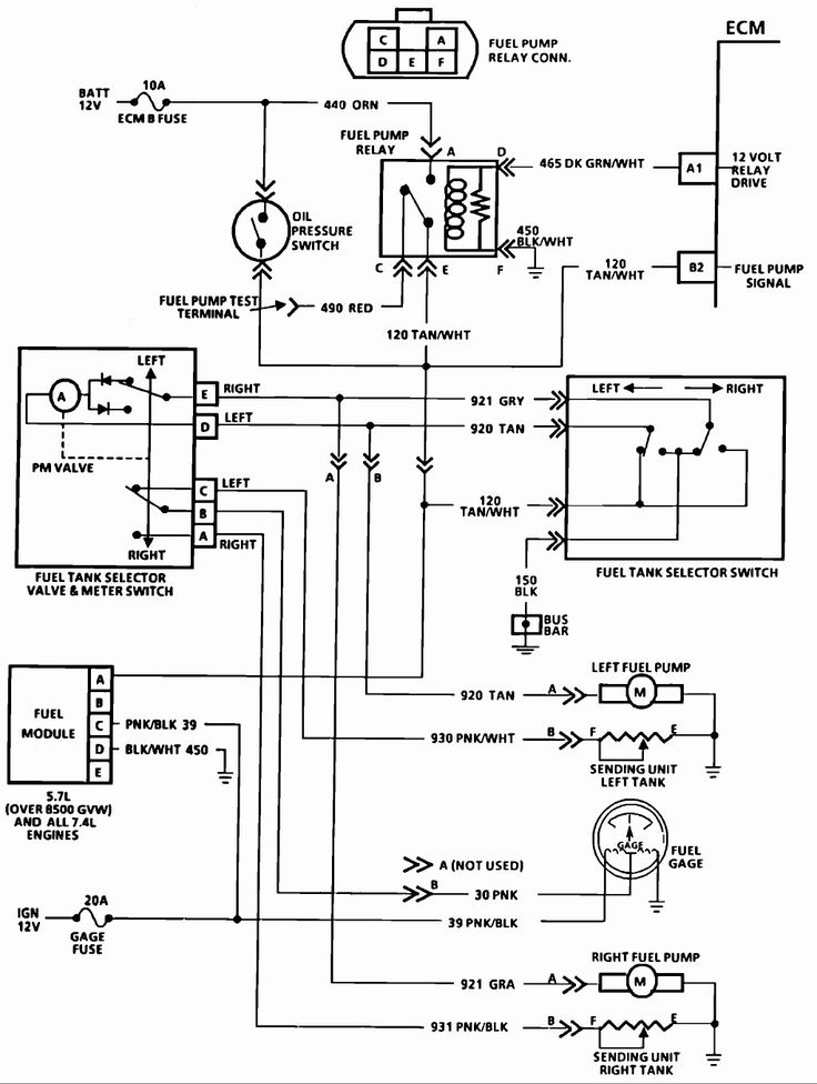 New Fuel Tank Selector Switch Wiring Diagram In 2020