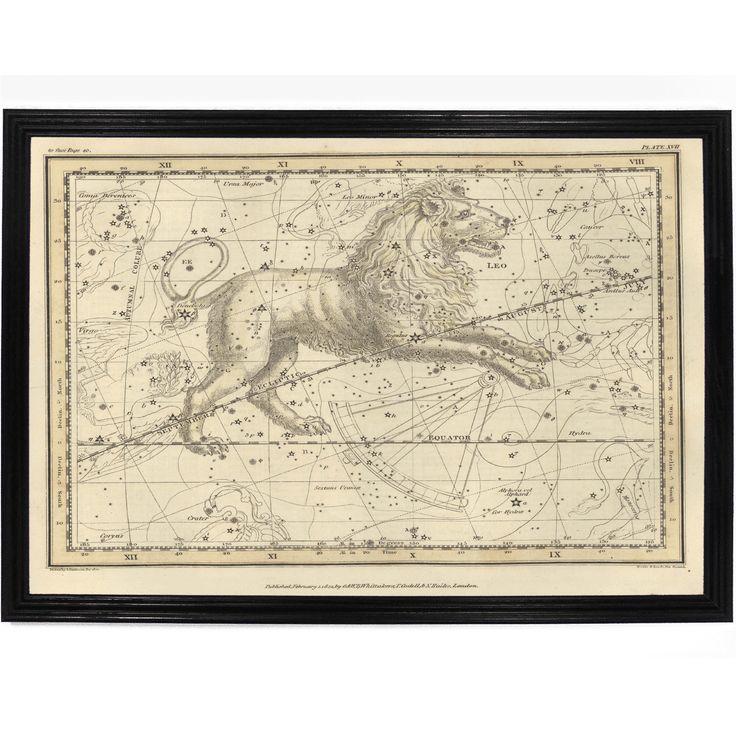 Leo Star Map
