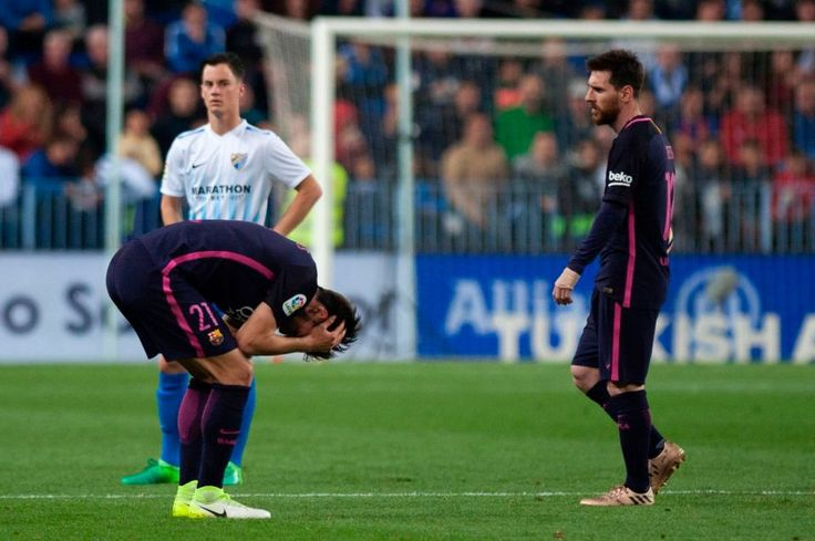 Barcelona failed to capitalize on a chance gifted