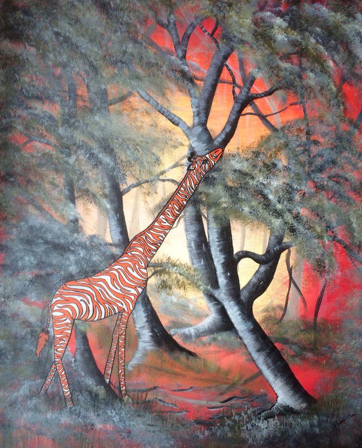 Undercover giraf