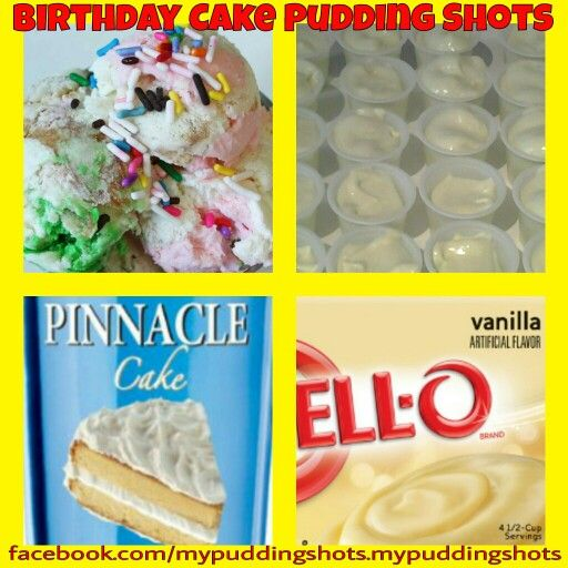 131 best Shots images on Pinterest Pudding shots Recipes and