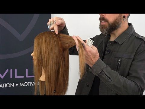 Why layers become unbalanced side to side when cutting hair - YouTube