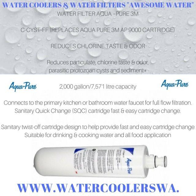 WATER FILTER AQUA - PURE C-CYST-FF (REPLACES AQUA PURE 3M AP 9000 CARTRIDGE)