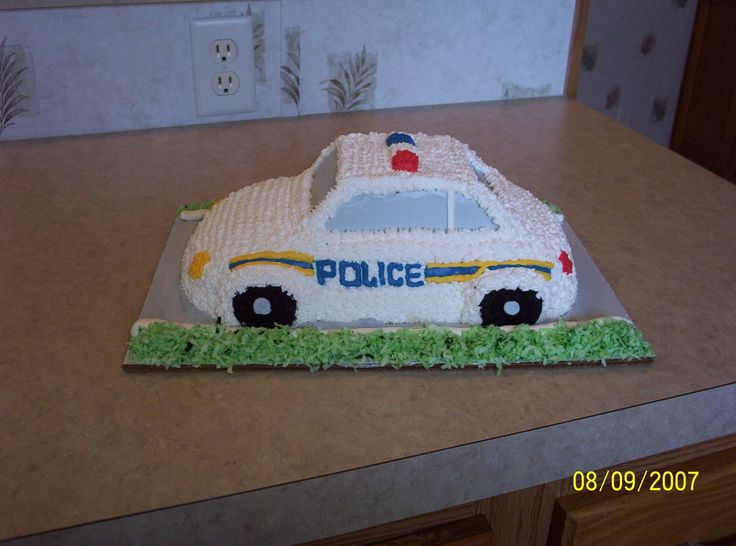 police car cakes pictures | police car — Military / Police / Fire Dept.