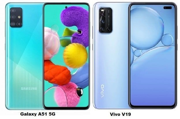 Samsung Galaxy A51 Vs Vivo V19 Specs Comparison Samsung Galaxy Samsung Phone Cases Samsung