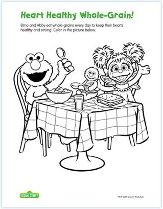 9 best sesame street coloring pages images on Pinterest Elmo