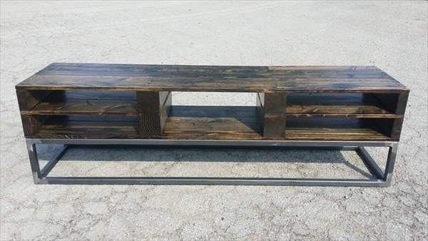pallet plasma stand - Google Search  Pallet TV Stands & Entertainment  Centers  Pinterest  Metals, Pallet tv and Repurposed